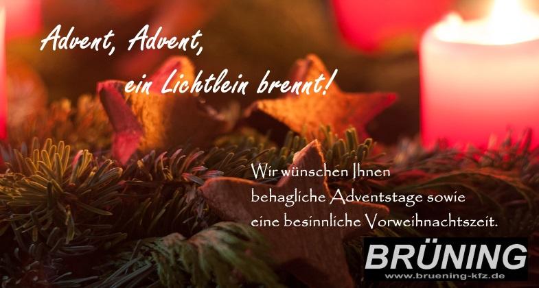 Advent-2018 Bruening-KFZ