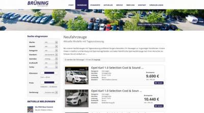Neue Homepage KFZ Brüning